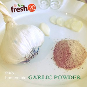 DIY Garlic Powder Recipe, How To Make Garlic Powder