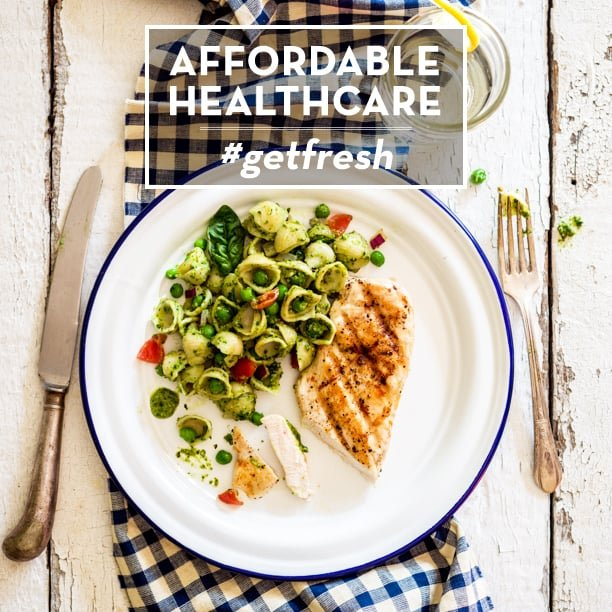 Affordable Healthcare #getfresh