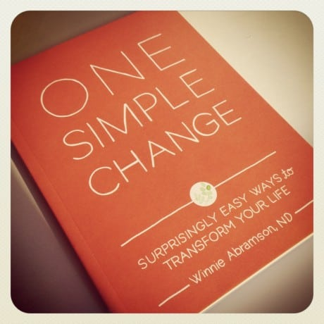 One Simple Change by Winnie Abramson