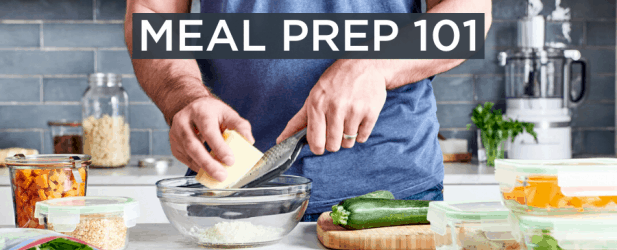 Meal Prep Tips and Secrets to Healthy Eating Thumbnail