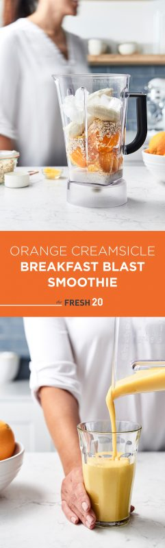 Orange Cream Breakfast Smoothie