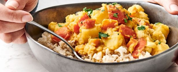 Red Lentil Vegetable Curry Thumbnail