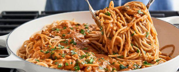 Vegan Pasta Bolognese Thumbnail