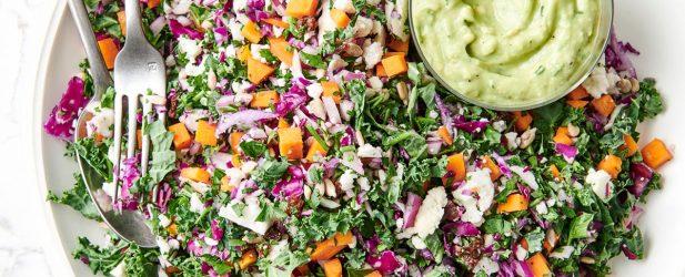 Vegan Chopped Salad Thumbnail
