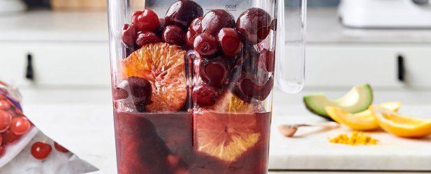 Pomegranate Orange Cherry Smoothie Thumbnail