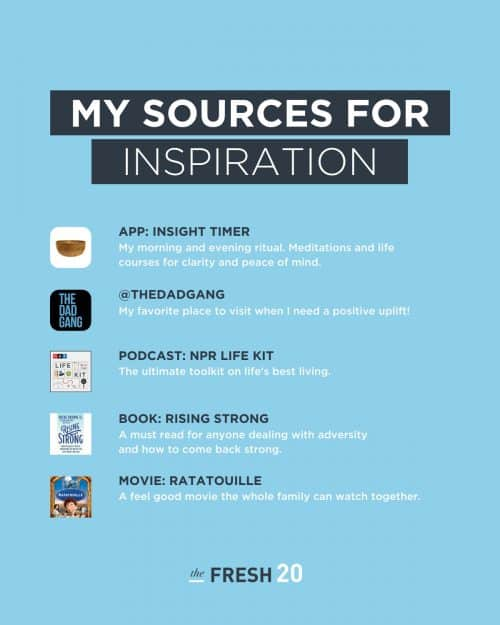Tools for Inspiration