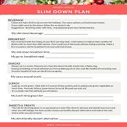 Slim Down Plan