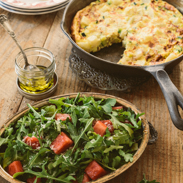 dairy free meal plans - potato frittata