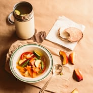 lunch meal plans - vegetable soup